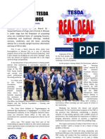 Pnp Bringing Tesda to Fight Drugs Flyers