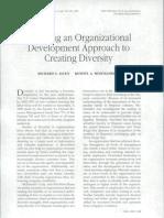 Applying an Organizational Development