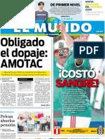 El Mundo de Córdoba, 8 de julio de 2011
