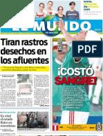 El Mundo de Orizaba, 8 de julio de 2011
