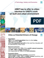 Sustainable Cities Presentation_11 UNEP