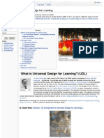 Universal Design for Learning - ETEC 510
