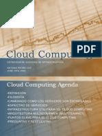 Infraestructura Teoria Cloud Computing