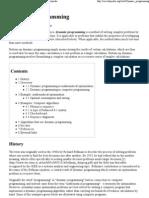 Dynamic Programming - Wikip..