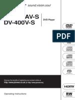 Dv 600av s Manual En