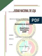 JGAP y Algoritmos Geneticos