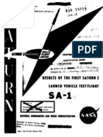 Results of the First Saturn I Launch Vehicle Test Flight SA-1
