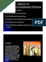 Historia de La Explotacion Petrolera