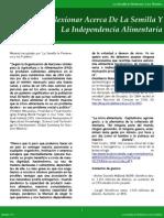 Boletín nº 6 La Semilla le Pertenece a los Pueblos