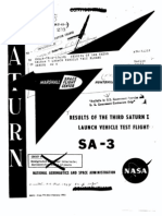 Results of the Third Saturn I Launch Vehicle Test Flight. SA-3