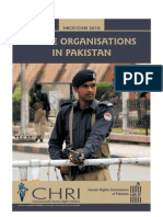 Police Organ is at Ions in Pakistan