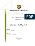Manual JGAP & Algoritmos Geneticos