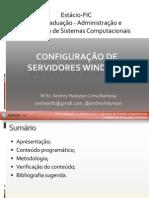 Primeira aula - DNS e DHCP
