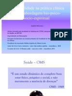 Espiritualidade na prática clínica