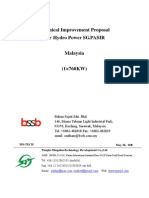Technical Improvement Proposal for Hydro Power SG.pasiR Malaysia Final