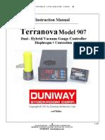 Terranova907 Manual