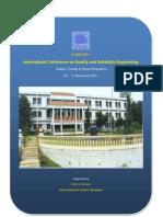 Brochure ICQRE2011