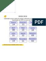 Calendario DDDX 2010