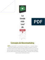 Concepto de Neuromarketing