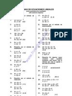 sistema de ecuaciones