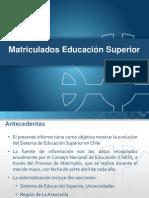 Proceso Matrícula (2007-2011)