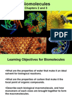 Bio Molecules Lectures