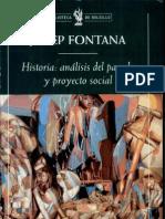 Historia y Analis Del Proyecto Social - Josep Fontana (True)