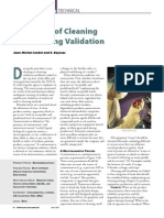 Basics of Cleaning & Cleaning Validation