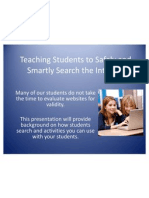 teaching students to safely and  smartly search the
