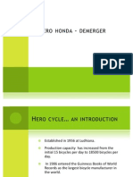 Hero Honda Demerger