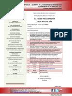 1 - datos de presentación de la asociación