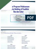 Presentasi Capacity Building