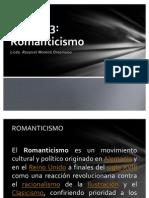 UTN FH 301 Unidad 3 Romanticismo y El Matadero