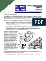 NAMFREL Election Monitor Vol.2 No.16 07082011