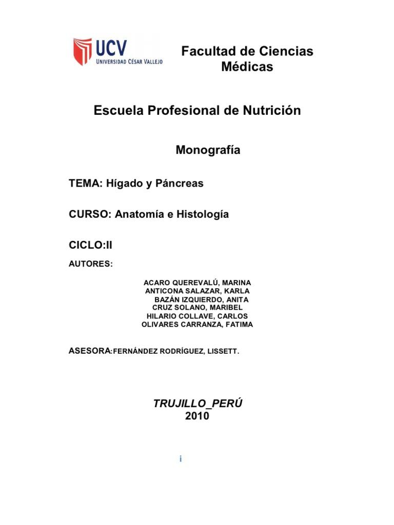 Monografia Higado y Pancreas