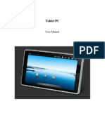 SuperPad ZH10X2-PAD Tablet PC - User's Manual