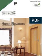 Home Elevator SED200 SVB200