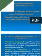 Metode de Management