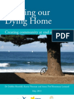 Bringing Our Dying Home