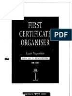 John Flower - First Certificate Organiser - 1996