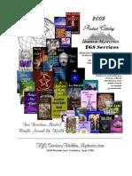 Hidden Mysteries 2009 Catalog