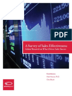 PDF Microsite Achieve Global AG Survey of Sales Effectiveness