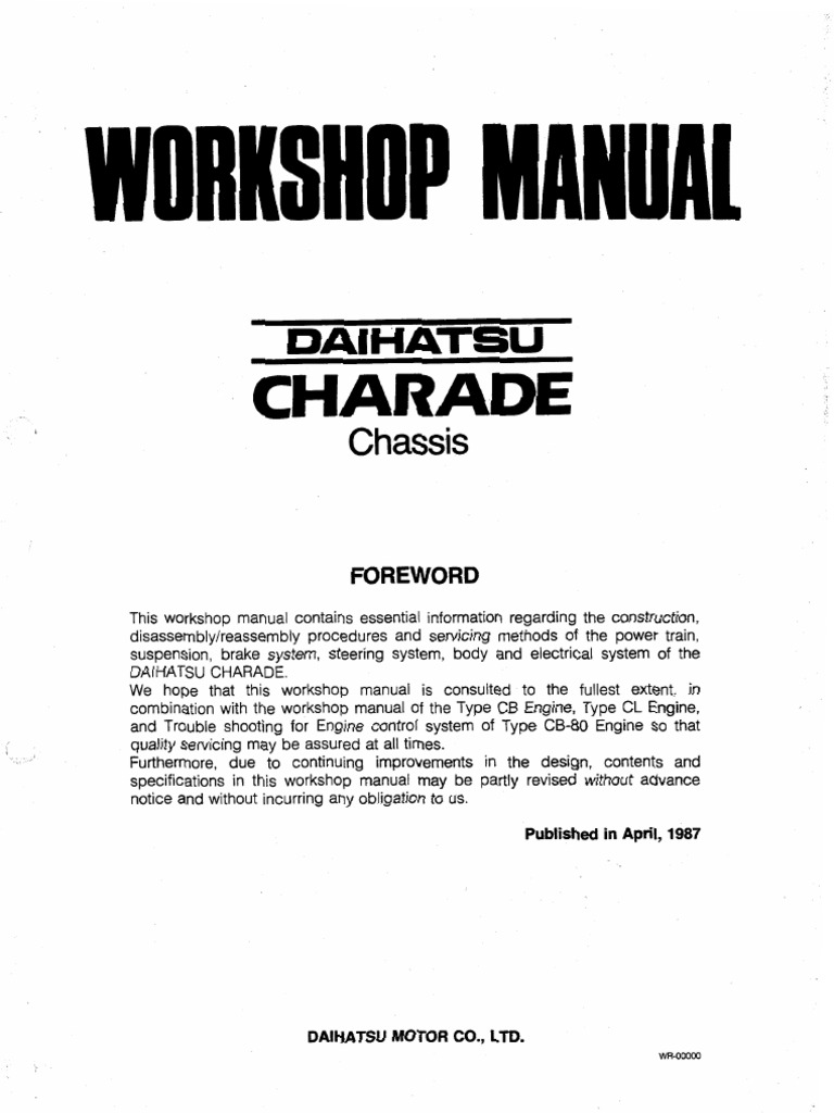Daihatsu Wiring Diagrams Charade Diagram Schematic Glamorous 1992 Images Best Image Car