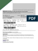 Ticket - Abisko