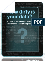 Dirty Data Report Green Peace