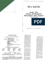 Bartok_Music for Strings Percussion Celesta