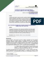 UTILIZAÇÃO DE MÉTODO DE INTERPOLAÇÃO PARA ANÁLISE E