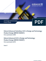 UA024835 GCE in Design and Technology - Product Design Issue 2 210510