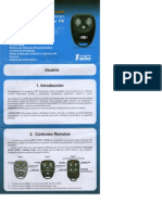 Manual Alarma PST Cyber TX