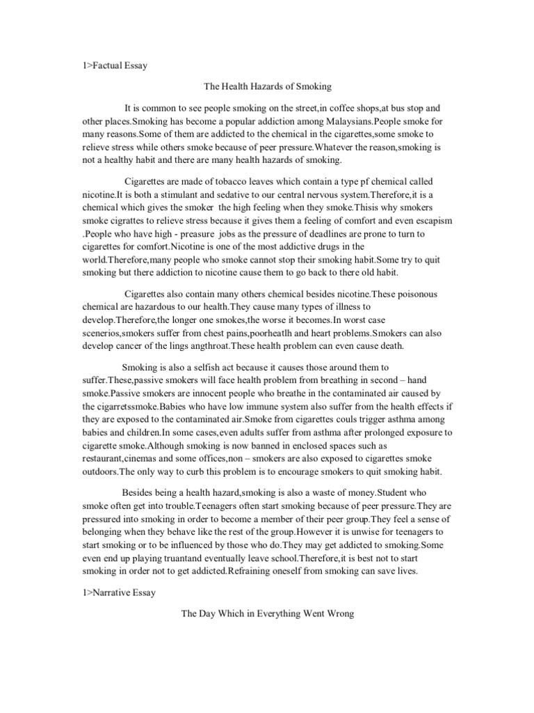 old smoke essay When i was eleven years old each year thousands and thousands of people die from either smoking or second-hand smoke smoking summary in the essay smoking.